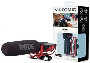Rode VideoMic Camera Mount Shotgun Mic