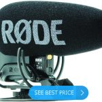 Rode VideoMic Pro+ Compact Directional On-Camera Shotgun Condenser Mic for DSLR