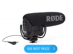 Rode VideoMicPro Compact Directional On-Camera Microphone for all DSLR