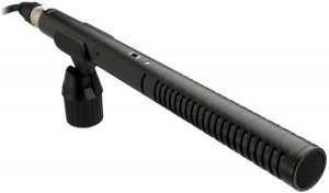 Rode NTG2 Multi-Powered Condenser Shotgun Microphone,Black